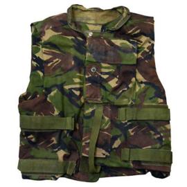Britse leger DPM Camo Cover Combat Body Armour vest - zonder ballistische inhoud - size 180/116 - gedragen - origineel