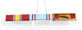 US medaille balk voor 3 medailles  National Defence medal / Air Force Good Conduct Medal / Vietnam Gallantry Cross - 11 x 1 cm - origineel