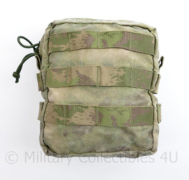 Defensie en Korps Mariniers Warrior Assault Systems Molle tas Utility pouch FG camo- 17 x 15 x 6 cm - origineel