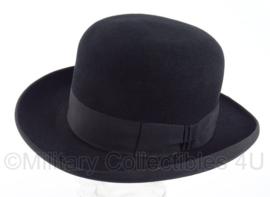 Heren bolhoed - zwart - Antiek - maat 55 - The Bonnington hat - origineel