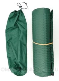 Defensie self inflatable matras met opberghoes - 181 x 52 cm - origineel