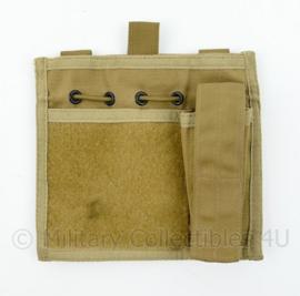 Defensie, Korps Mariniers en US Army coyote MOLLE office pouch - 16,5 x 18 x 3 cm - origineel