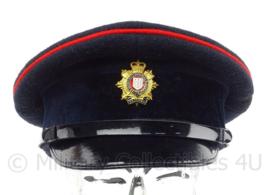 Britse Royal Logistic Corps visor cap met insigne - maat 54 -  origineel
