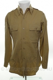 US officer khaki shirt - size XS - origineel WO2 US