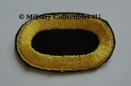 541 PIR Oval Wing (donkerblauw met gele rand) - origineel