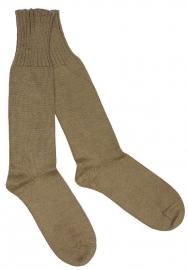 Nederlandse leger sokken - bruin wol - licht gebruikt - meerdere maten - origineel