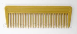 WO2 model Russische kam - geel - afmeting 4 x 12 cm - origineel