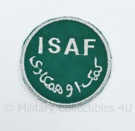 ISAF patch - diameter 6,5 cm - origineel