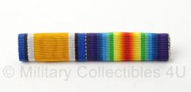 US Army medaillebalk van 2 medailles - afmeting 7 x 1 cm - origineel
