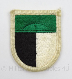 US Army Special Forces baret insigne 1st SOCOM flash patch - afmeting 4,5 x 6 cm - origineel