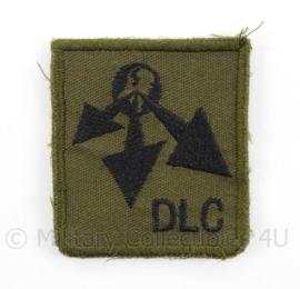 KL Landmacht borst embleem DLC Divisie Logistiek Commando - afmeting 4,5 x 5 cm - origineel