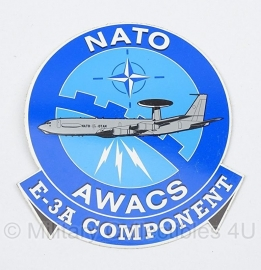 AWACS NATO Air Base E-3A sticker  - origineel