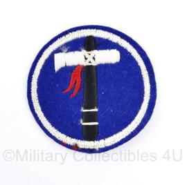 US Army 19th Corps patch  - diameter  7 cm - origineel