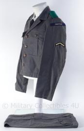 """BB Bescherming Bevolking uniform jasje met voering en broek """"chauffeur"""" - maat 49 - origineel"""
