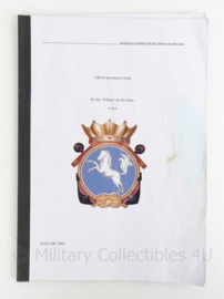 KM Koninklijke Marine instructieboek NBCD Hr Ms Willem van der Zaan F829 - origineel