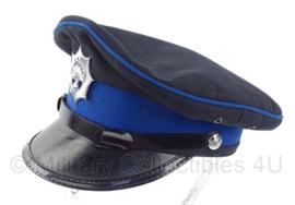 Korps Rijkspolitie platte pet met insigne - maat 56,5 - origineel