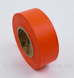 3M rol met oranje lint -  afmeting rol 9 x 3 cm - origineel