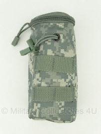 Koppeltas airsoft BB fles - Molle draagsysteem - 20 x 7 x 7 cm ACU camo