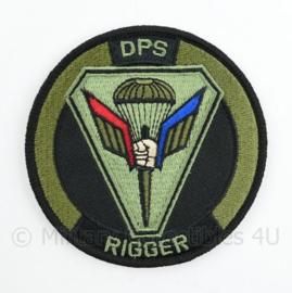 Defensie DPS Rigger  Defensie Para School Rigger embleem - met klittenband - diameter 9 cm