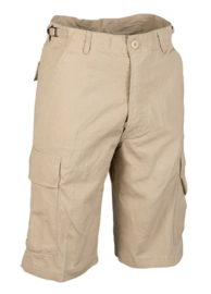 US BERMUDA COTTON PREWASH - KHAKI