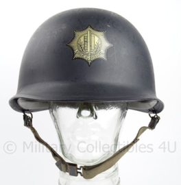 Nederlandse Gemeentepolitie M1 helm met binnenhelm - origineel