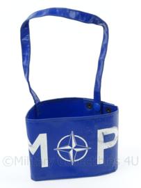 NATO armband Military Police MP - nieuw in verpakking - afmeting 47,5 x 11 cm - origineel