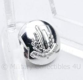 Gemeentepolitie knoop 14 MM zilver - nieuw