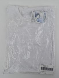 KL Koninklijke Landmacht Onderhemd/ shirt Wit unisex korte mouw - maat Large - nieuw in verpakking - origineel