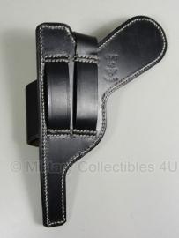 Holster P08 Luger - Fallschirmjäger - zwart leer
