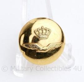KLu Luchtmacht knoop 23 MM goud  -  origineel