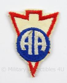 US Army Vietnam Oorlog 82nd Airborne Division  LRRP RECON patch  - afmeting 4 x 5 cm - Origineel