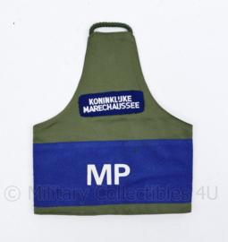KMAR Marechaussee MP Military Police - stoffen armband - 24 x 20 cm - Origineel