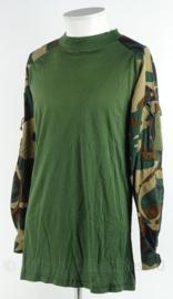 Korps Mariniers Ubac shirt woodland forest camo - merk Rothco - maat M - Zeldzaam - origineel
