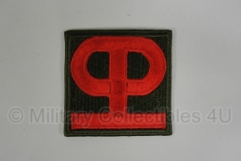WWII US 90th Infantry Division patch