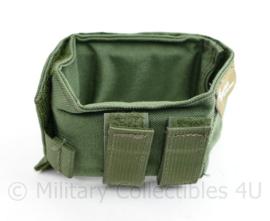 Defensie en Korps Mariniers Groene Profile Equipment M4 Diemaco C7 kolfsteun NIEUW - 12 x 8 x 10 cm - origineel