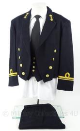 KM Marine vloot GLT gala uniform set jas, broek, gilet met rang LTZ 3 - maat 52 - origineel