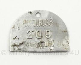 Schnürschuhe  alluminium label Infanterie Regiment 93