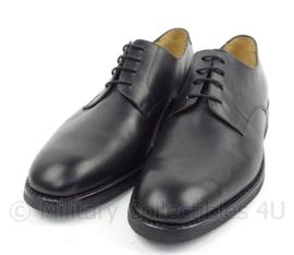 KMAR Koninklijke Marechaussee DT schoenen kort model zwart met rubberen zool Day & Night zool - ONGEDRAGEN - meerdere maten - origineel
