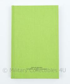 Nieuw Amerikaanse leger Notitieblok schrift - Federal Supply Service green notebook - 20,5 x 13 x 1,5 cm - origineel