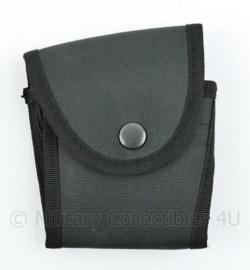 Britse politie koppeltas zwart - 12 x 11 x 3 cm - nieuw - origineel