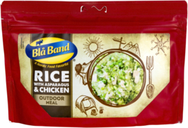 Blå Band Rice with Asparagus & Chicken meal maaltijd - t.h.t. oktober 2022