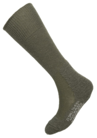 Socks, wool, cushion sole OD 50% wol - size 7,5 / 8,5 - origineel en ongebruikt US Army