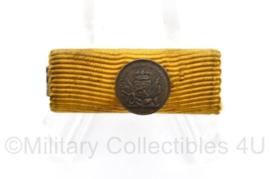 Defensie trouwe dienst medaille balkje - 3 x 1 cm - origineel