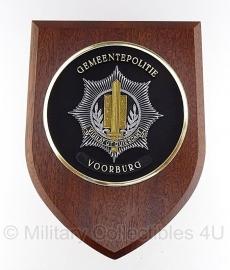 Gemeentepolitie Voorburg wandbord - origineel