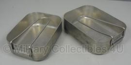 Etensblik set KL - alluminium -  origineel