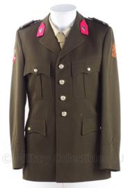 """KL Koninklijke Landmacht DT jasje met rang """"Wachtmeester"""" - """"Militaire administratie"""" - 1982 - maat 49 - origineel"""
