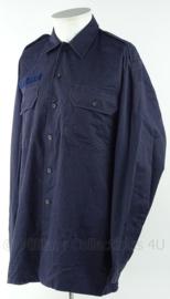 KMAR Marechaussee VT overhemd zonder insignes - maat 8000/9500 - origineel