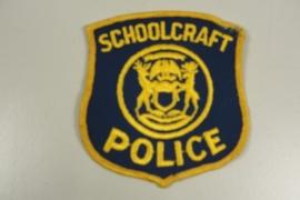 Schoolcraft Police patch - origineel