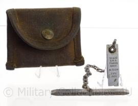 US Army Browning .50 en .30 BMG Headspace Gage A-351214 - met origineel hoesje - origineel