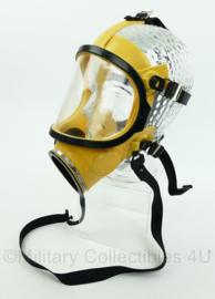Gasmasker zonder mondstuk - geel - NIEUW - origineel